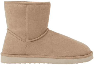 Beige Ankle Boots-H&M