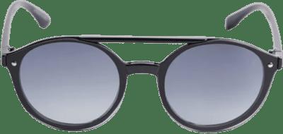 Black Ari Rounded Aviator Sunglasses