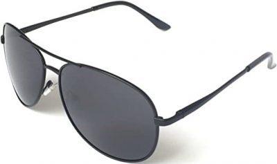 Black Aviator Sunglasses-J+S