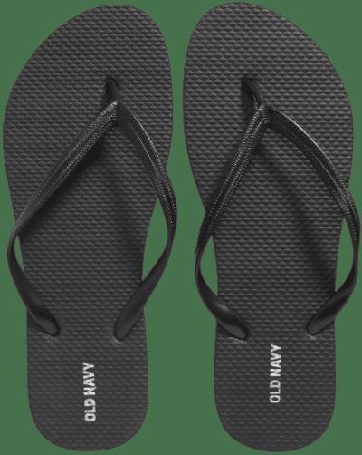 Black Classic Flip-Flops-Old Navy
