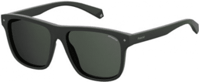 Black Core 56mm Square Sunglasses-Polaroid