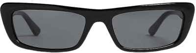 Black Gigi Hadid Acetate Sunglasses-Vogue