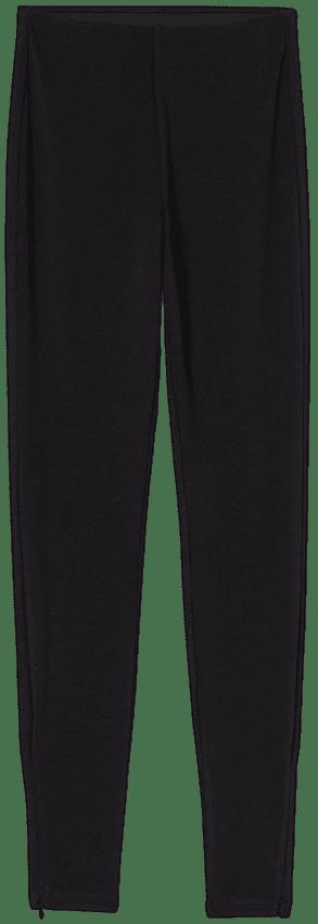 Black High Waist Leggings-H&M