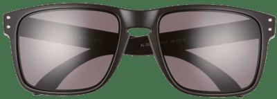 Black Holbrook Polarized Square Sunglasses