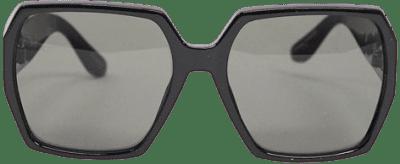 Black Praledda Oversized Square Sunglasses-Aldo