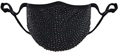 Black Rhinestone Mask-SAILA