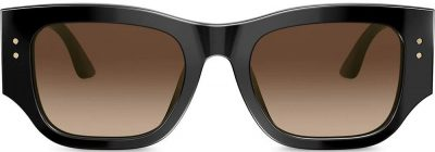 Black Square Frame Sunglasses-Tory Burch