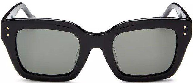 Black Square Sunglasses-Le Specs