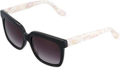 Blush Duo-Tone Square Sunglasses