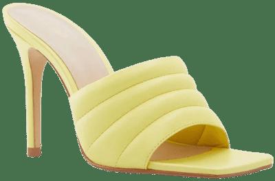 Bright Green Daniella Stiletto Heel Mule-Aldo