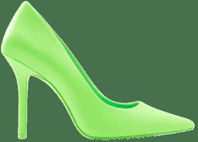Bright Green Stiletto Heels