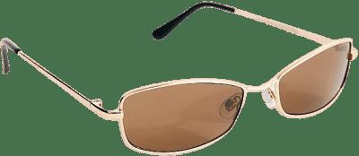 Brown Bayside Metal Sunglasses-Free People