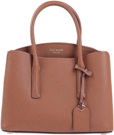 Brown Leather Handbag-Kate Spade