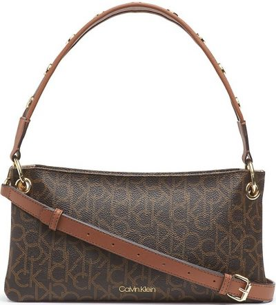 Brown Monogram Raya Baguette Bag