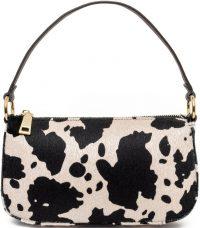 Cow Print 99% Angel Shoulder Bag-Frasier Sterling