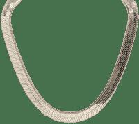Gold 10mm Herringbone Chain Necklace-Asos Design