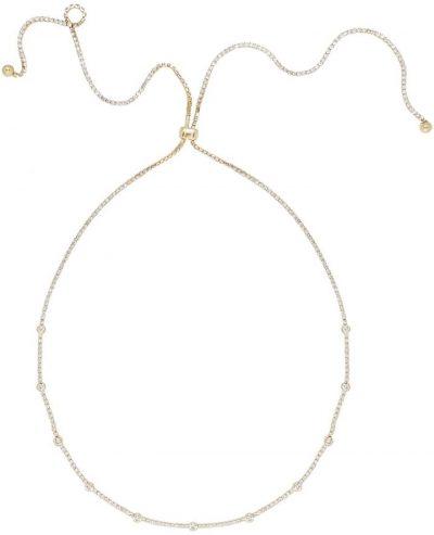 Gold Crystal Chain Necklace-Ettika