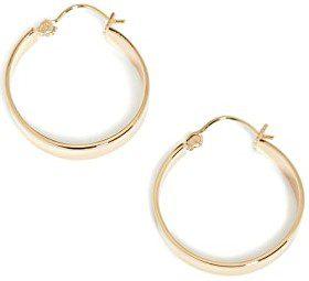 Gold Jax Small Hoop Earrings-Gorjana