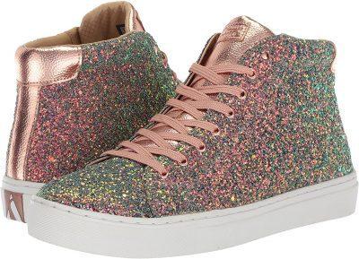 Gold Side Street-Rock Glitter Sneakers