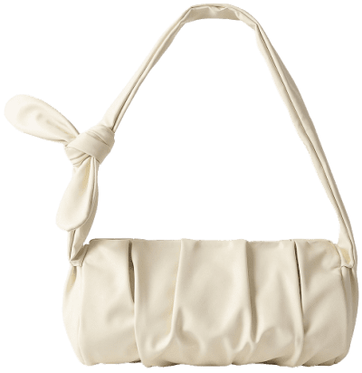 Offwhite Draped Knot Strap Bag-NA-KD