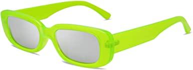 Rectangle Retro Sunglasses-VANLINKER
