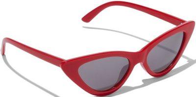 Red Cat-Eye Sunglasses-New York & Company