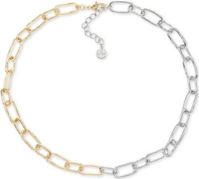 Two-Tone Link Chain Necklace-Alfani_result