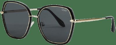 Verve Black Sunglasses-Quay