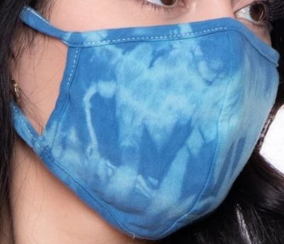 Washable & Reusable Hand Tie-Dyed Face Mask-Curvy Sense