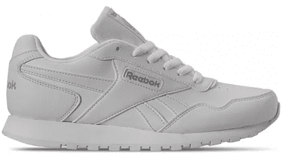 White Harman Run Sneakers