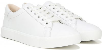 White Leather Ethyl Low Top Sneakers