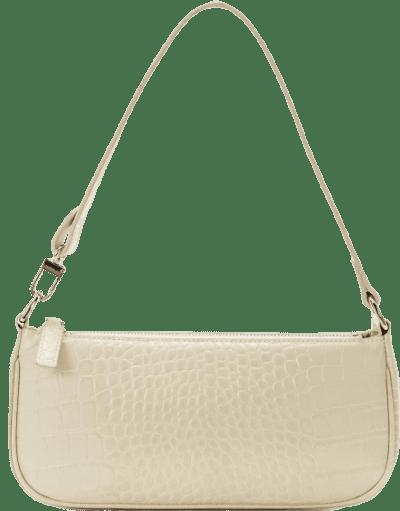 White Retro Shoulder Bag