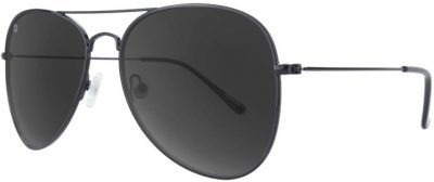 Black 54mm Mile Highs Polarized Sunglasses-Knockaround