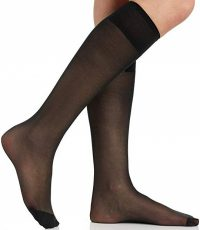 Black Knee High Pantyhose-Berkshire