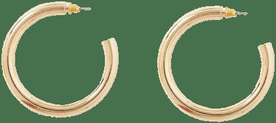 Gold Chunky Hoop Earrings -River Island