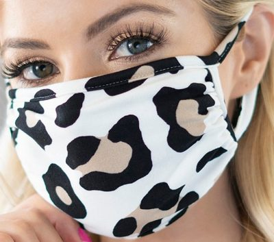 Ivory Leopard Non-Medical Face Mask