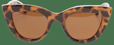 Light Tortoise Cat-Eye Sunglasses