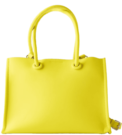 Lime Green Minimalist Mini Tote Bag