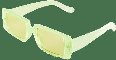 Lime Ayden Rectangle Sunglasses