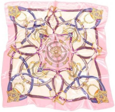 Pink Lavish Style Head Scarf-Fashion Nova