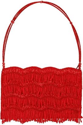 Red Evening Clutch Handbag