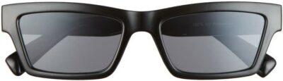Black Rectangle Sunglasses-BP.