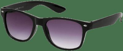 Black Wayfarer Sunglasses-Ardene