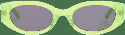 Cosmic Rebel Oval-Framed Acetate Sunglasses-Hot Futures