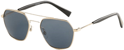 Gold 53mm Rocco Aviator Sunglasses-Elizabeth and James