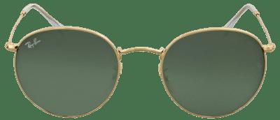 Green Classic G-15 Round Metal Sunglasses