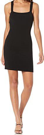 Black Knitted Dress-French Conection