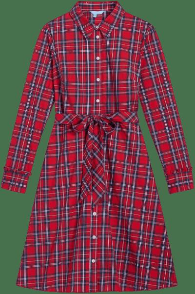 Angie Plaid Carly Shirt Dress-Draper James