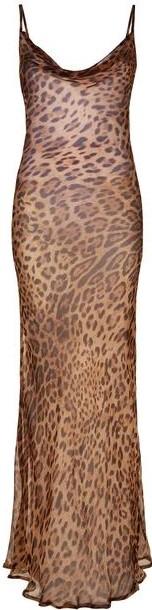 Animal Print Valentina Dress