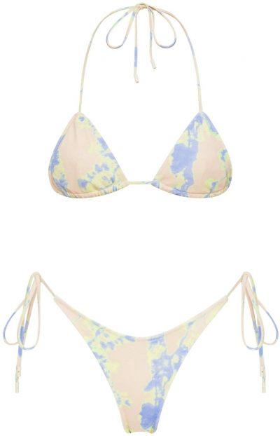 Avah Tie Dye Triangle Bikini-Triangl